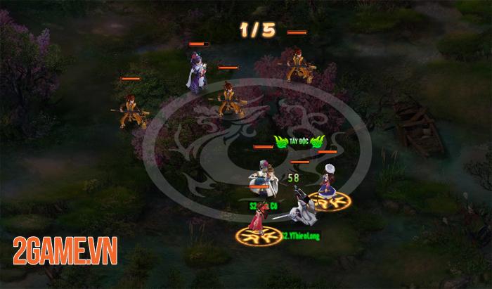 Thiên Hạ Ngũ Tuyệt H5 trông đơn giản nhưng gameplay lại rất sâu 5