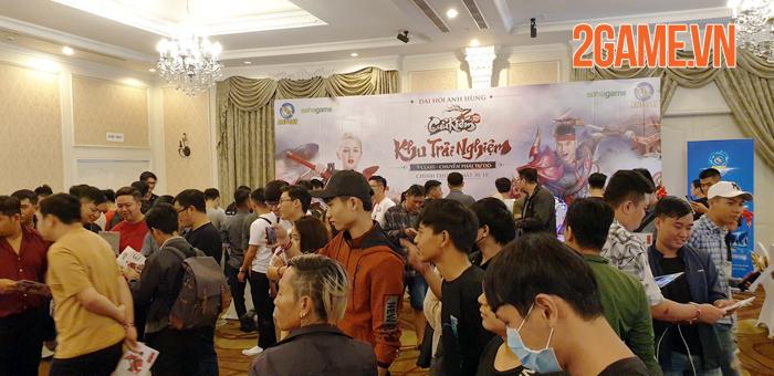 Buổi họp báo ra mắt Cửu Kiếm 3D Mobile được SohaGame tổ chức rình rang 0
