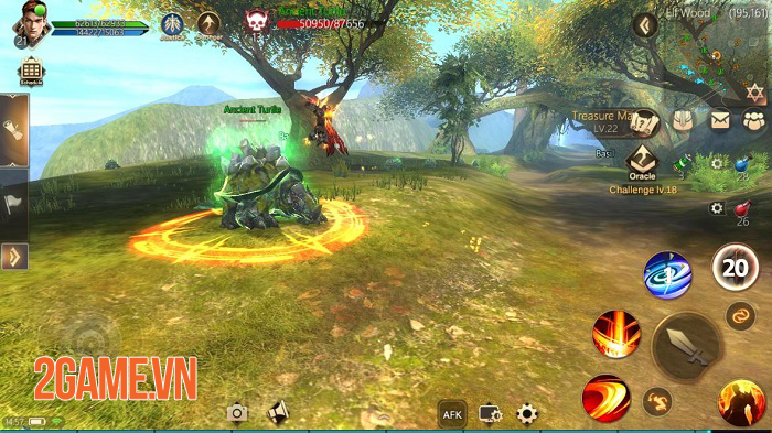 Rise of Nowlin mang đến một tựa game mobile tuyệt vời, đúng chất MMORPG cổ điển 0