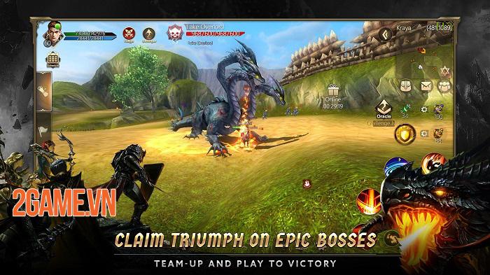 Rise of Nowlin mang đến một tựa game mobile tuyệt vời, đúng chất MMORPG cổ điển 2