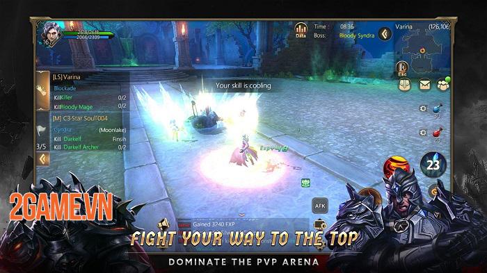 Rise of Nowlin mang đến một tựa game mobile tuyệt vời, đúng chất MMORPG cổ điển 4