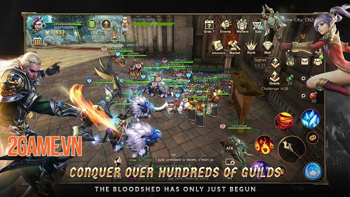 Rise of Nowlin mang đến một tựa game mobile tuyệt vời, đúng chất MMORPG cổ điển 3
