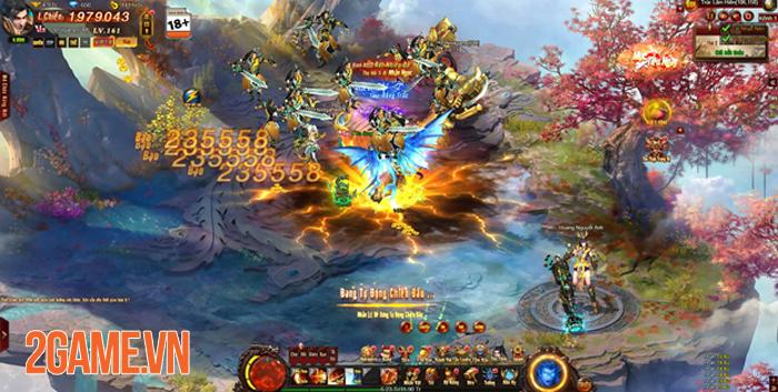 Webgame nhập vai viễn tưởng Cửu Thiên 3 mở cửa 1