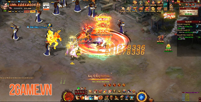 Webgame nhập vai viễn tưởng Cửu Thiên 3 mở cửa 2