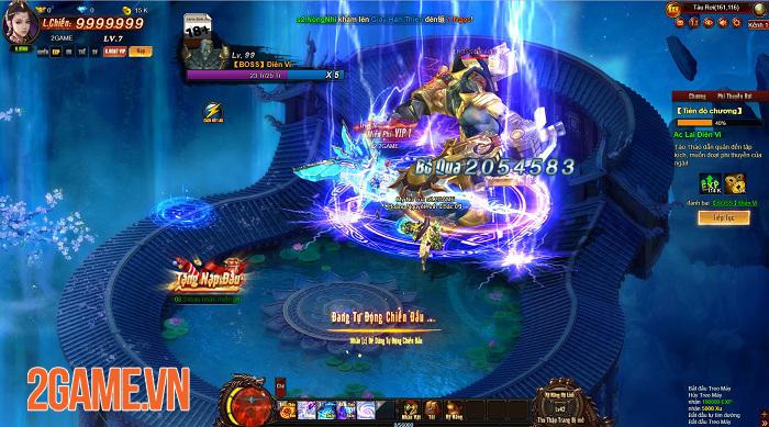Cửu Thiên 3 cho thấy chất lượng vượt trội so với tiêu chuẩn của webgame 3