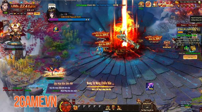 Cửu Thiên 3 cho thấy chất lượng vượt trội so với tiêu chuẩn của webgame 2