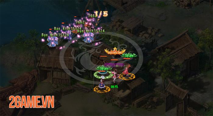 Thiên Hạ Ngũ Tuyệt H5 từng bước chinh phục người chơi 2