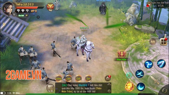 Tuyệt Thế Võ Lâm đang cố tái hiện hình bóng của những tượng đài game kiếm hiệp khi xưa 1