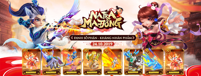 Tặng 888 giftcode game Na Tra Ma Đồng H5 0