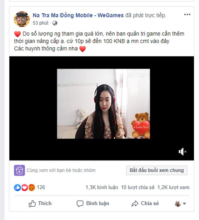 Game Na Tra Ma Đồng H5 sập server vì quá tải 3