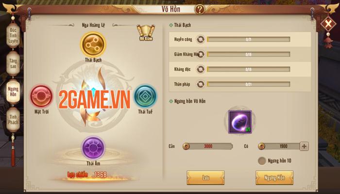 Võ Hồn mang đến ngưỡng sức mạnh mới cho người chơi Tân Thiên Long Mobile 2
