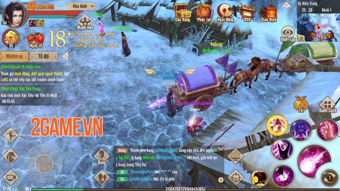 Võ Hồn mang đến ngưỡng sức mạnh mới cho người chơi Tân Thiên Long Mobile 0