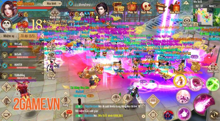 Võ Hồn mang đến ngưỡng sức mạnh mới cho người chơi Tân Thiên Long Mobile 3
