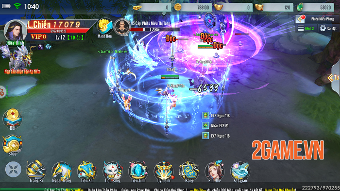 Đào Hoa Kiếm Mobile khiến game thủ chẳng muốn rời tay vì cày cuốc quá phê! 2