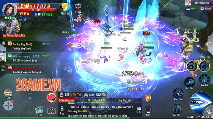 Đào Hoa Kiếm Mobile khiến game thủ chẳng muốn rời tay vì cày cuốc quá phê! 3