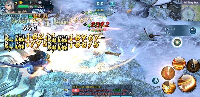 3 bí kíp giúp game thủ Võ Lâm Truyền Kỳ Mobile chinh phục ải Đỉnh Trường Bạch 2