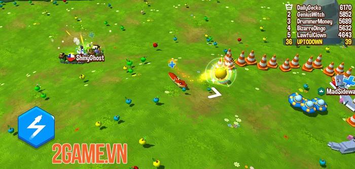 Snake Rivals - Game rắn ăn mồi kết hợp sinh tồn có nhiều chế độ chơi thú vị 1