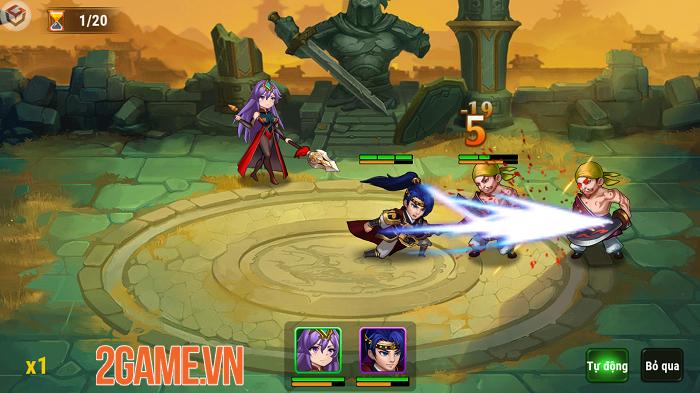 Chúa Công Chạy Mau Mobile sở hữu gameplay đậm màu sắc game thẻ tướng 2