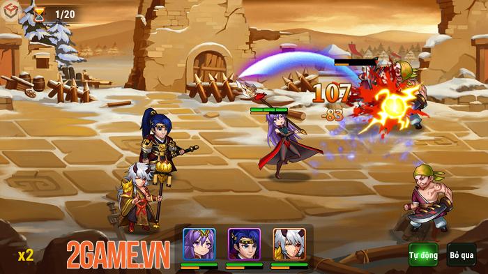 Chúa Công Chạy Mau Mobile – Sản phẩm game thẻ tướng dễ chơi dễ cày về Việt Nam