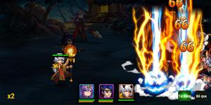 Chúa Công Chạy Mau Mobile sở hữu gameplay đậm màu sắc game thẻ tướng