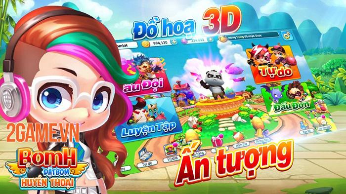 BomH 3D - Game đặt bom huyền thoại do đội ngũ Việt sản xuất 0