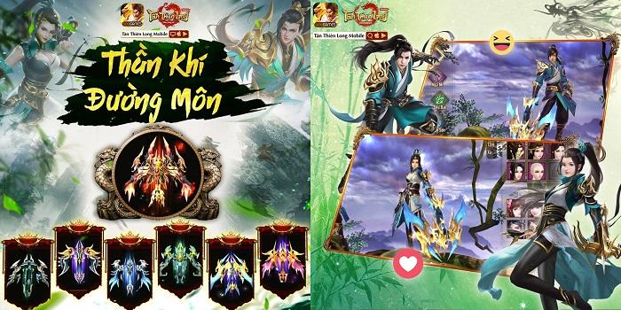 Tân Thiên Long Mobile chiêu đãi game thủ