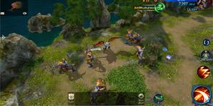 Chúa Nhẫn Mobile sở hữu lối chơi cày cuốc khá tương đồng với MU Online