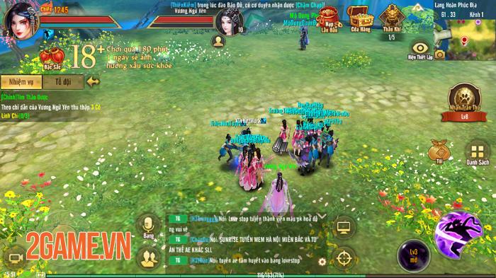 Game thủ Tân Thiên Long Mobile VNG đổ dồn sự chú ý cho máy chủ đặc biệt S45 1
