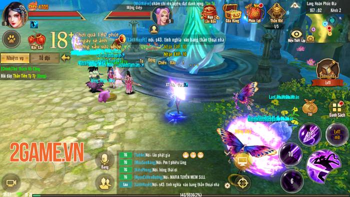 Game thủ Tân Thiên Long Mobile VNG đổ dồn sự chú ý cho máy chủ đặc biệt S45 2