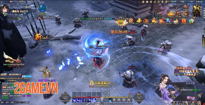 Kiếm Vũ Giang Hồ 3D sẽ là tựa game PC hiếm hoi của VNG 2
