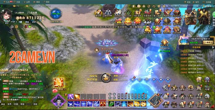 Kiếm Vũ Giang Hồ 3D sẽ là tựa game PC hiếm hoi của VNG 6