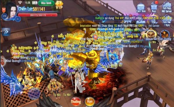 Kiếm Ma 3D là tựa game kiếm hiệp dị giới đáng tự hào của Funtap 1