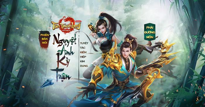 Game thủ Tân Thiên Long Mobile tấm tắc khen bản update Nguyệt Ảnh Kỳ Trận 1