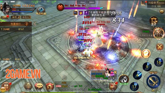 Game Kiếm Động 3D mang lối chơi nhập vai cày cuốc với khả năng tuỳ biến cao 3
