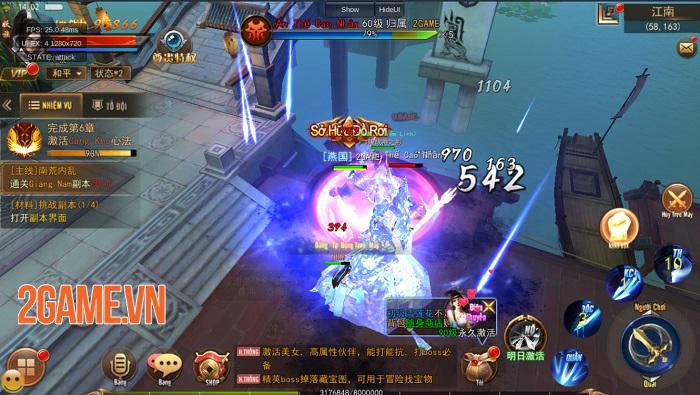 Game Kiếm Động 3D mang lối chơi nhập vai cày cuốc với khả năng tuỳ biến cao 2