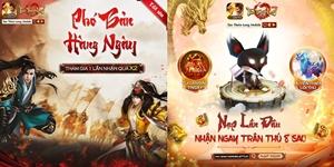 Tân Thiên Long Mobile VNG chơi lớn với hàng loạt ưu đãi chưa từng có