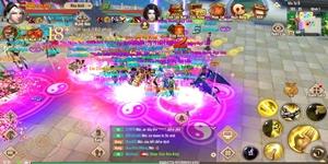Game thủ Tân Thiên Long Mobile mê đắm phiên bản mới và môn phái mới