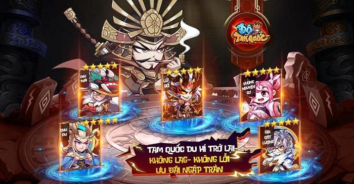 Sự trở lại của huyền thoại Độ Tam Quốc trên thị trường game mobile Việt 0