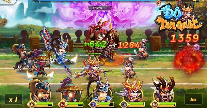 Sự trở lại của huyền thoại Độ Tam Quốc trên thị trường game mobile Việt 2
