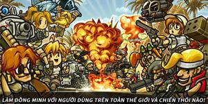 """Phiên bản """"Rambo lùn mobile"""" Metal Slug Infinity cập nhật ngôn ngữ tiếng Việt"""