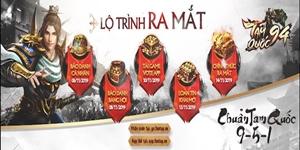 Game mobile chiến thuật Tam Quốc 94 chính thức công bố lộ trình ra mắt