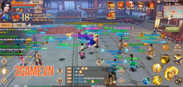 Tân Thiên Long Mobile VNG đẩy cao sự kịnh tính cho chiến trường Tống Liêu 0