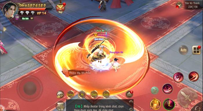 Tuyệt Thế Võ Lâm đang cố tái hiện hình bóng của những tượng đài game kiếm hiệp khi xưa 4