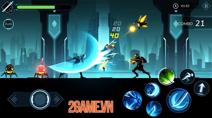 Overdrive 2: Shadow Legion - Game hành động chặt chém đề tài khoa học viễn tưởng 1