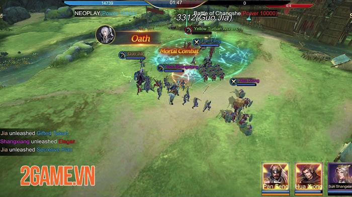 Three Kingdoms Domination - Game chiến thuật đề tài Tam Quốc quen thuộc 0