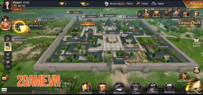 Three Kingdoms Domination - Game chiến thuật đề tài Tam Quốc quen thuộc 1