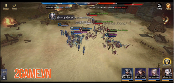 Three Kingdoms Domination - Game chiến thuật đề tài Tam Quốc quen thuộc 3