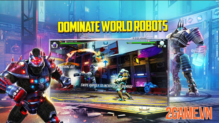 World Robot Boxing 2 - Game mobile đối kháng đề tài mới mẻ và đồ hoạ bắt mắt 0
