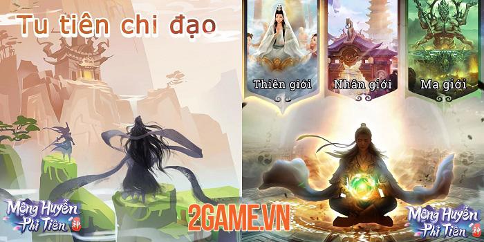 Mộng Huyễn Phi Tiên - Game tu tiên chơi tự động với gameplay khá dị 2