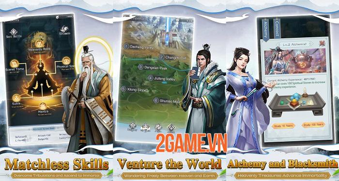 Mộng Huyễn Phi Tiên - Game tu tiên chơi tự động với gameplay khá dị 0